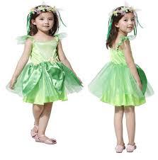 Fairy Halloween Costume Kids Spring Fairy Dress Neverland Tinkerbell Garden Fairy Kids