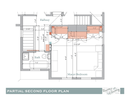 Floor Plan Of A House With Dimensions Decor Extraordinary Partial Second Floor Plan With Fancy Standard
