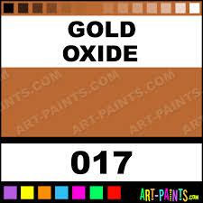 gold oxide artist gouache paints 017 gold oxide paint gold