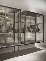 white glass storage cabinet kitchen design ideas metal and glass storage cabinet metal storage