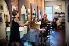 exhibit a salon