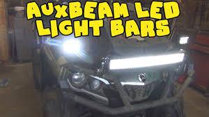 Led Light Bar For Home by Atv Light Bar Instalation Auxbeam Led Light Bars On Can Am