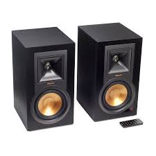 minimalist computer speakers amazon com klipsch r 15pm powered monitor black pair home