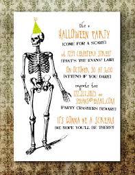 free printable halloween party invitations free printable