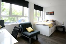 Studio Flat by Student Accommodation In Sheffield And Bournemouth Omnia Space