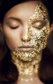 gold halloween makeup happy halloween u2013 evanna lily