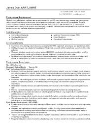 Pharmacy Technician Resume Examples by Professional Medical Imaging Technician Templates To Showcase Your