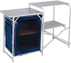 Kitchen And Table Aluminium Camping Kitchen And Table Set Ebay
