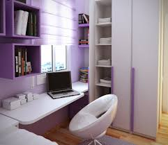 Purple Kids Desk Chair by Purple Girl Room Come With White Gloss Wall Mount Study Desk And