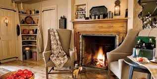 Fancy Fireplace by Country Christmas Decor Ideas Stone Brick Wall Tile Fireplace