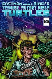 teenage mutant ninja turtles color classics tpb 8 idw publishing