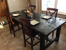 How To Build A Dining Room Table Plans by Distressed Farm Table Project How To Build A Farm Table For 100