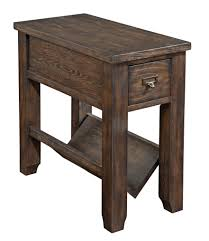 hardwood 10 inch chairside end table furniture end tables with drawers and magazine rack inspirational