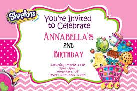 shopkins birthday invitations chevron birthday invitations