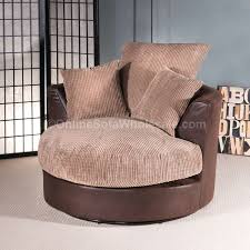 Swivel Sofas For Living Room Small Cozy Living Swivel Chair Combined Chrome