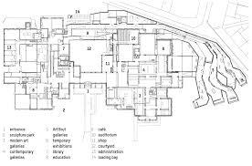 Museum Floor Plan Lille Métropole Museum Of Modern Art By Manualle Gautrand