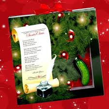 christmas pickle the christmas pickle tradition book for kids story the