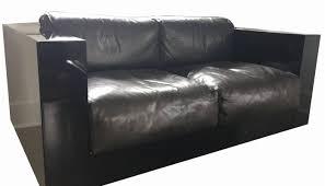 Leather Cushions For Sofas Single Cushion Leather Sofa Russcarnahan