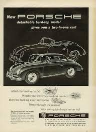 vintage porsche ad ads porsche