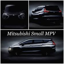mitsubishi expander mitsubishi xm production tease front side and