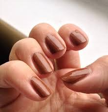 nice fall nail color think it looks good on medium light skin