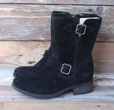 ugg womens frances boots black ugg australia womens dree black leather boots us 7 uk
