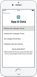 membuat icloud baru di pc memindahkan konten dari perangkat ios lama ke iphone ipad atau