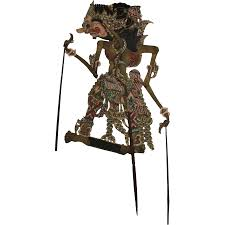 shadow puppets for sale 19th century original leather shadow puppet wayang