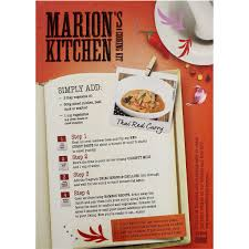 Thai Red Pumpkin Curry Recipe by Marion U0027s Kitchen Thai Red Curry Cooking Kit 450g Woolworths