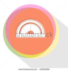 vector icon protractor stock vector 36779032 shutterstock