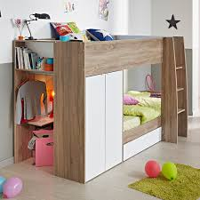 Bunk Bed With Storage Decoration Bunk Desks Childrens Single Bed With Storage Pink Bunk