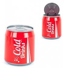 poubelle de chambre poubelle canette de soda coca