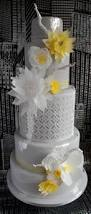contemporary gold award winning wedding cake on cake central