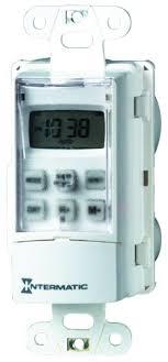 Amazon Com Intermatic Digital Wall Switch Timer Ss7c Kitchen Dining