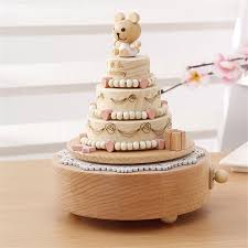 Unique Music Boxes Aliexpress Com Buy Wooden Toy Child Baby Carousel Cake Music Box