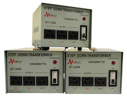 step down transformers are used for voltage reduction