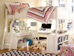 How To Build A Full Size Loft Bed With Stairs by Girls White Loft Bed With Desk Foter