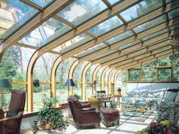Glass Awning Design Curved Eave Wood Glass Roof Design Vanguard Home Innovations