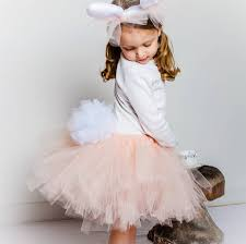 infant bunny halloween costume bunny rabbit tutu bunny tail satin bows and bunny rabbit