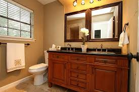 oil rubbed bronze mirrors bathroom with lamps doherty house