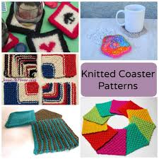 Crochet For Home Decor by 7 Knitted Coasters For Tabletop Protection U0026 Decor