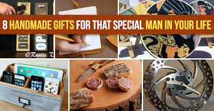 Handmade Gifts For Him Ideas - 8 handmade gifts for that special in your diy projects