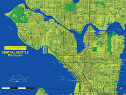 Seattle County Map by Active Guides Premier Property Maps And Relocation Guides