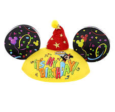 birthday hat disney parks exclusive mickey mouse happy birthday