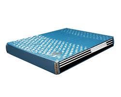 amazon com strobel organic waterbed mattress hydro support 1400