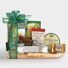 cheese and cracker gift baskets complete cheeseboard gift basket world market