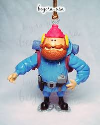 rudolph misfit ornament yukon cornelius with snowshoes on popscreen