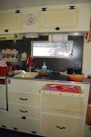 kitchen and cabinets vintage aloha trailer pictures and history from oldtrailer com