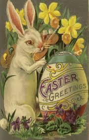 vintage easter baskets easter bunny origins the foodies kitchen