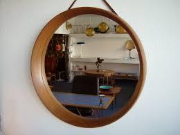 mid century mirror mid century modern danish teak mirror by pedersen hansen mirrors